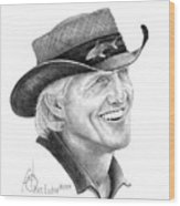 Greg Norman Wood Print