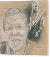 Gregg Allman Wood Print
