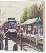 Gresham Station Wood Print
