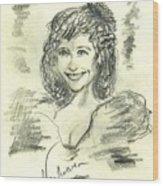 Greta  Maria Wood Print