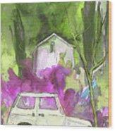 Greve In Chianti In Italy 02 Wood Print by Miki De Goodaboom