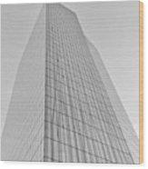 Grey Crystal Wood Print