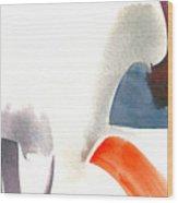 Grey Iron Abstract Wood Print