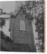 Grey Steeple Wood Print