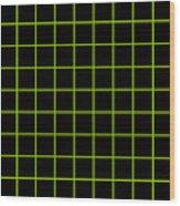 Grid Boxes In Black 09-p0171 Wood Print