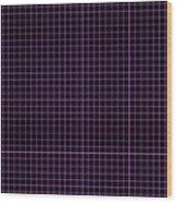 Grid Boxes In Black 30-p0171 Wood Print