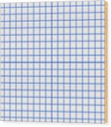 Grid Boxes In White 18-p0171 Wood Print