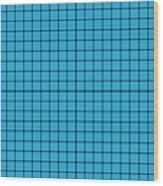Grid In Black 18-p0171 Wood Print