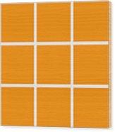 Grid In White 03-p0171 Wood Print