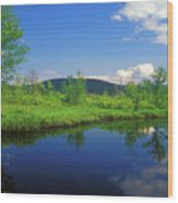 Gridley River Wapack Mountains Wood Print