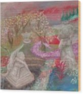 Grief's Paths Wood Print