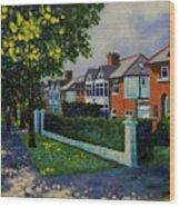 Griffith Avenue Dublin  Wood Print