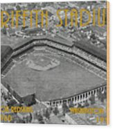 Griffith Stadium Wood Print