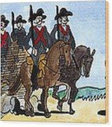 Grimm: Brave Little Tailor Wood Print