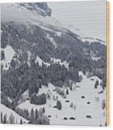Grindelwald In Winter 3 Wood Print