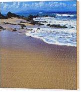 Gringo Beach Vieques Puerto Rico Wood Print