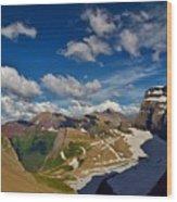 Grinnell Glacier Overlook Wood Print