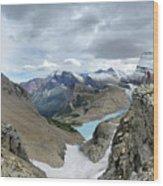 Grinnell Glacier Overlook - Glacier National Park Wood Print