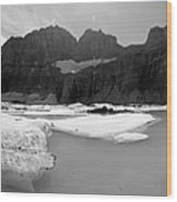 Grinnell Glacier Panorama Wood Print