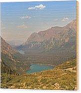 Grinnell Glacier Trail Glacier National Park Wood Print