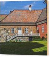 Gripsholm Keep Wood Print