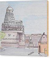 Grishneshwar Jyotirling Wood Print