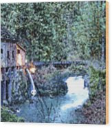 Griss Mill Watercolor Wood Print