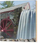 Grist Mill 1 Wood Print