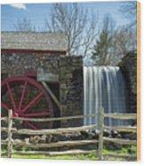 Grist Mill 5 Wood Print