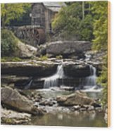 Grist Mill No. 1 Wood Print