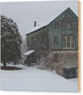 Grist Mill Of Port Hope Wood Print