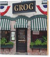 Grog Wood Print