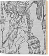 Grogoch Wood Print