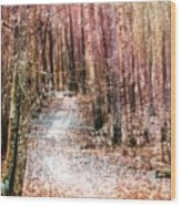 Grongarn Forest Painterly Wood Print