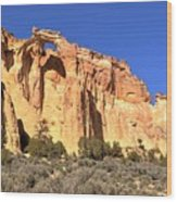 Groscenor Double Arch Panorama Wood Print