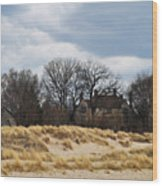 Grosse Point Lighthouse Wood Print