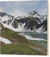 Grossglockner High Alpine Road Wood Print