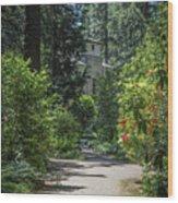 Grotto Monastery Wood Print