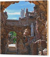 Grotto Of Redemption In Iowa Wood Print