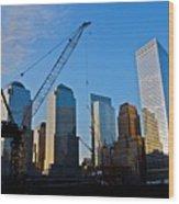 Ground Zero - Nyc - Wood Print