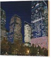Ground Zero Wood Print