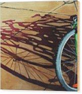 Group Hug - Bicycle Art Wood Print