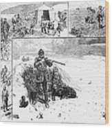 Grouse Hunting, 1887 Wood Print