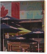Growling Gator Canada 150 Two Wood Print