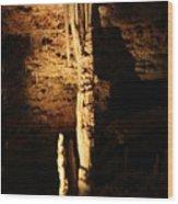 Growth - Cave 5 Wood Print