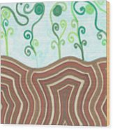 Growth Wood Print