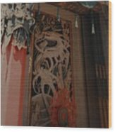 Grumanns Chinese Theater Wood Print