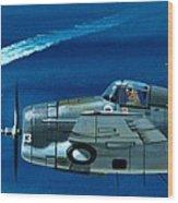 Grumman F4rf-3 Wildcat Wood Print