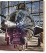Grumman F9f-8 F-9j Cougar Wood Print