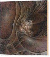 Grunge Wood Print